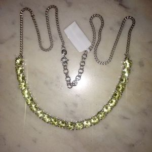 Jewelry - NWT*Stunning Silver Oro Verde Tennis Necklace!